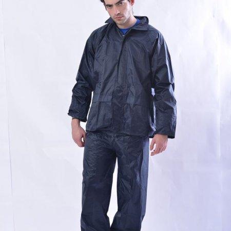 ERGO - Σετ σακάκι – παντελόνι μπλε